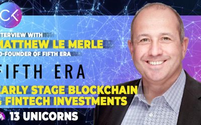 A tale of early stage Blockchain/Fintech and 13 Unicorns