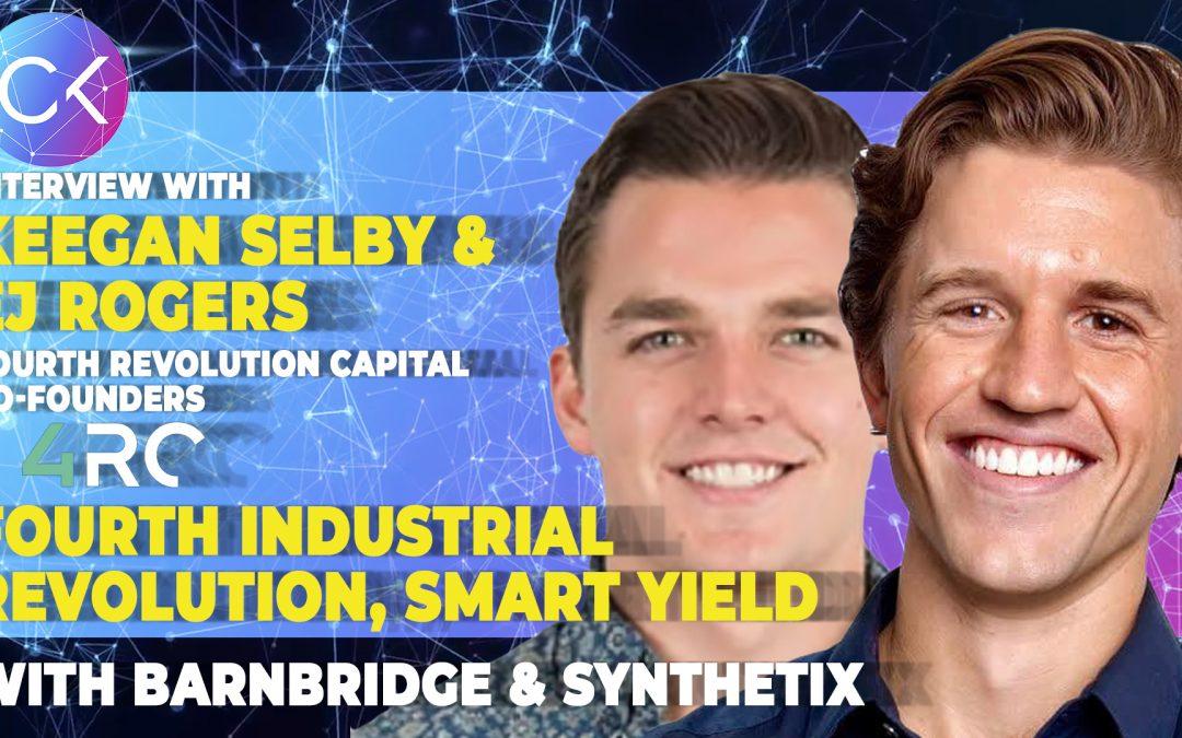 Fourth Industrial Revolution, Smart Yield with Barnbridge & Synthetix